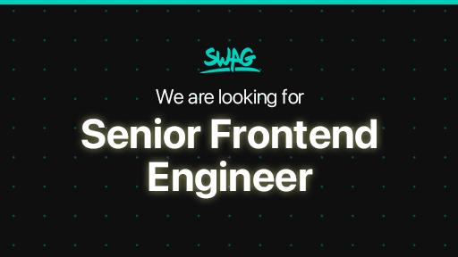 Senior Frontend Engineer