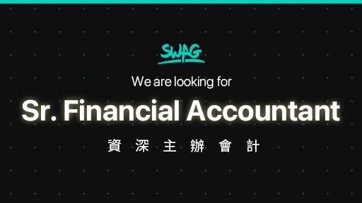 Sr. Financial Accountant 資深主辦會計